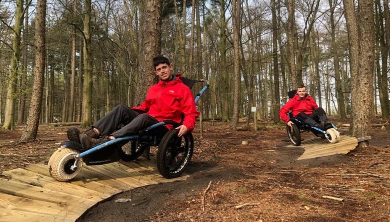 rolstoelers op het avonturenpad