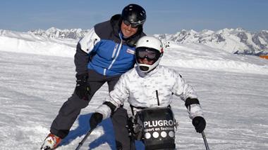Afbeeldingsresultaat voor skien met beperking