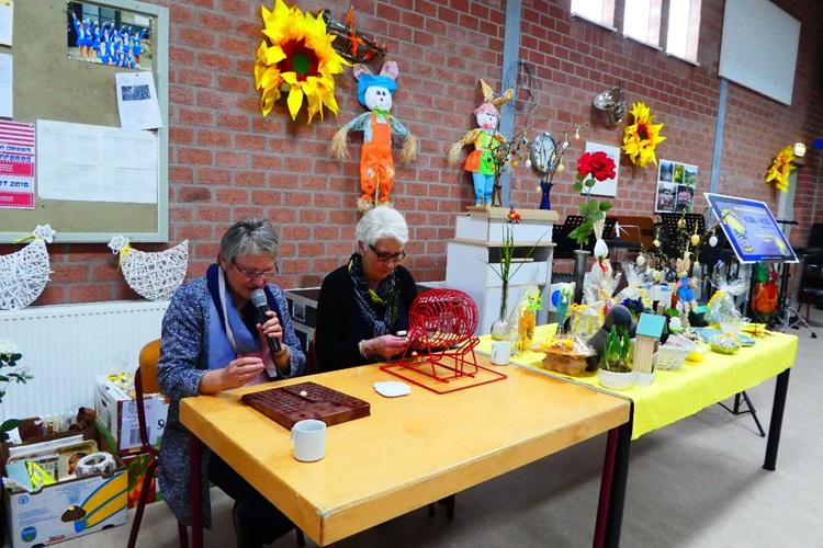 Een aangename verrassing tijdens de Lente-Paasbingo van de ...